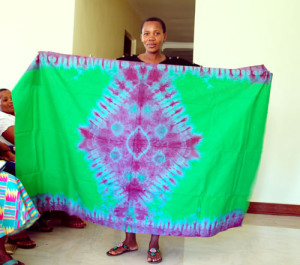 One VICOBA group had project of making Batik clothes